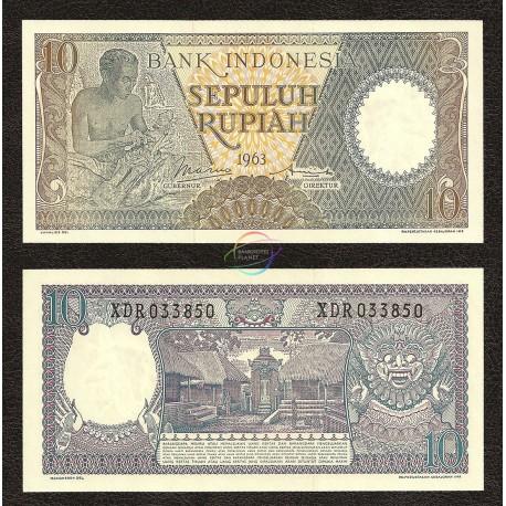 Indonesia, P-89, 1963, UNC