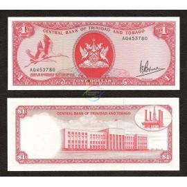 Trinidad & Tobago 1 Dollar, 1977, P-30a, UNC