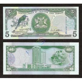Trinidad & Tobago 5 Dollars, 2006, P-47, UNC