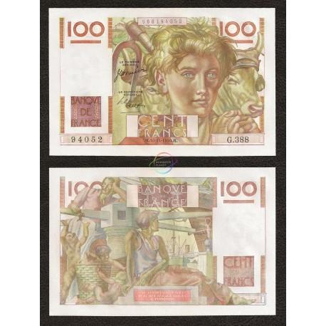 France 50 Francs, 1950, P-128c, UNC