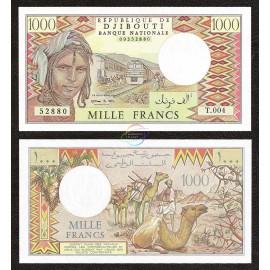 Djibouti 1000 Francs, 1988, P-37e, UNC