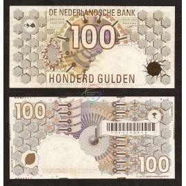 Netherlands 100 Gulden, 1992, P-101, UNC