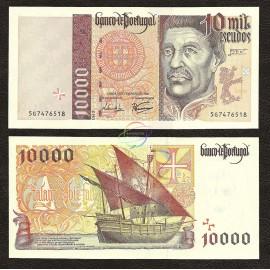 Portugal 10,000 Escudos, 1998, P-191c, UNC