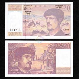 France 20 Francs, 1997, P-151i, UNC