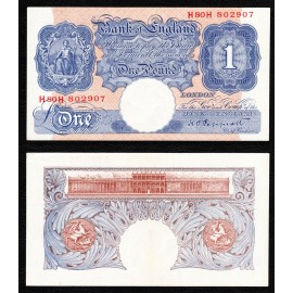 Great Britain 1 Pound, 1940, P-367a, AUNC