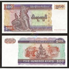 Myanmar 500 Kyats, 1994, P-76b, UNC