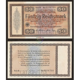 Germany 50 Reichsmark, 1933, P-203, UNC
