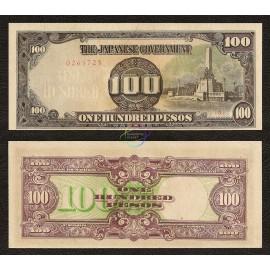 Philippines 100 Pesos, 1944, P-112, AU