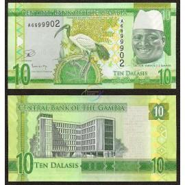 Gambia 10 Dalasis, 2015, P-32, UNC