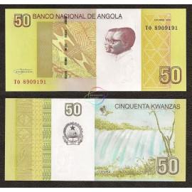 Angola 50 Kwanzas, 2012, P-152, UNC
