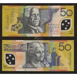 Australia 50 Dollars, 1995, P-54a, Polymer, UNC