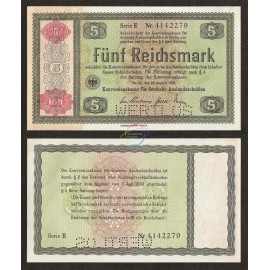 Germany 5 Reichsmark, 1934, P-207, AU
