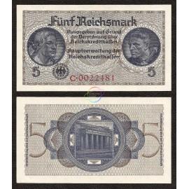 Germany 5 Reichsmark, 1940-45, P-R138a, AUNC