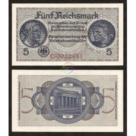 Germany 5 Reichsmark, 1940-45, P-R138a, UNC