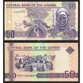 Gambia 50 Dalasis, 2006, P-28, UNC