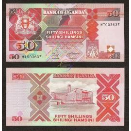 Uganda 50 Shillings, 1997, P-30c, UNC