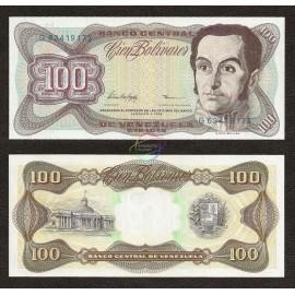 Venezuela 100 Bolivares, 1998, P-66f, UNC