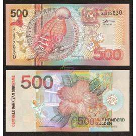 Suriname 500 Gulden, 2000, P-150, UNC