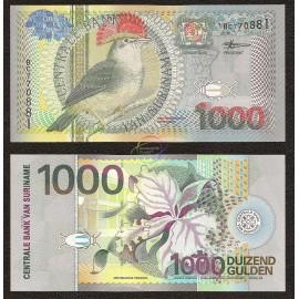 Suriname 1,000 Gulden, 2000, P-151, UNC