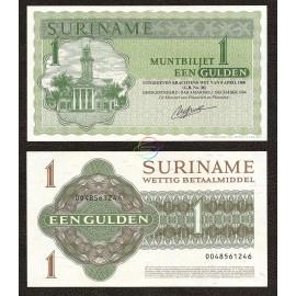 Suriname 1 Gulden, 1984, P-116h, UNC