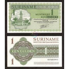 Suriname 1 Gulden, 1986, P-116i, UNC