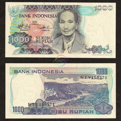 Indonesia 1,000 Rupiah, 1980, P-119, UNC
