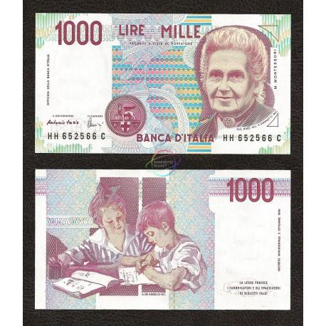 Italy 1,000 Lire, 1990, P-114, UNC