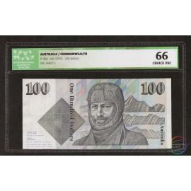 Australia 100 Dollars, 1992, P-48d, ICG 66 UNC