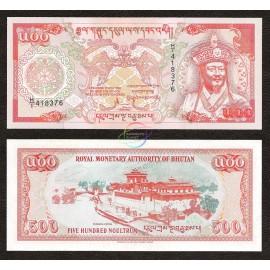 Bhutan 500 Ngultrum, 1994, P-21, UNC