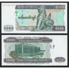 Myanmar 1000 Kyats, 2004, P-80, UNC