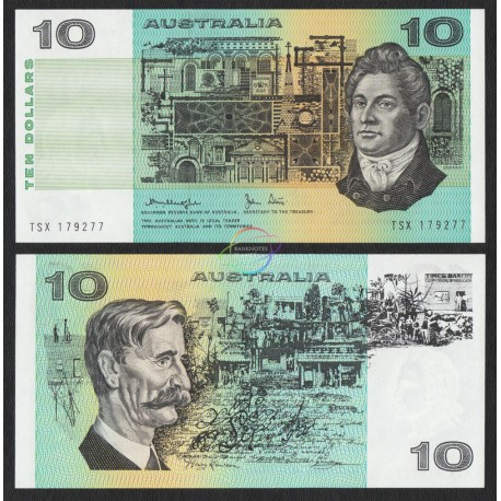 Australia 10 Dollars, 1979, P-45c, UNC