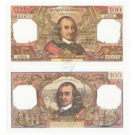 France 100 Francs, 1972, P-149d, UNC