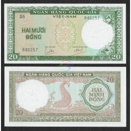 South Vietnam 5 Dong, 1964, P-16, UNC