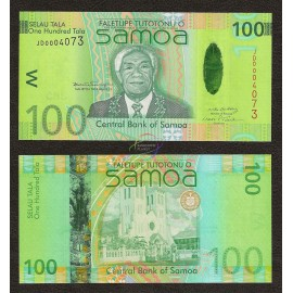 Samoa 100 Tala, 2008, P-42, UNC