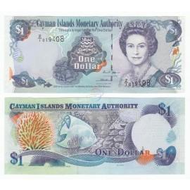 Cayman Islands 1 Dollar, Replacement, QE II, 2006, P-33r, UNC