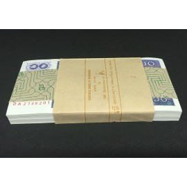 Myanmar 10 Kyats X 100 PCS, Full Bundle, 1997, P-71, UNC