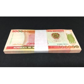 Mozambique 100,000 Meticais X 100 PCS, Full Bundle, 1993, P-139, UNC