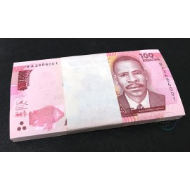 Malawi 100 Kwacha X 100 PCS, Full Bundle, 2016, P-65c, UNC