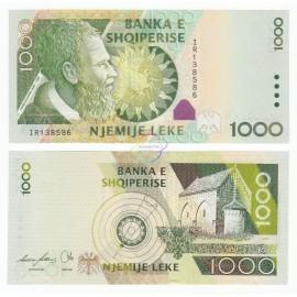 Albania 1,000 Leke, 2007, P-73a, UNC