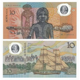 Australia 10 Dollars, Commemorative, 1988, P-49b, Polymer, UNC