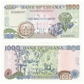 Ghana 1,000 Cedis, 1996, P-29b, UNC