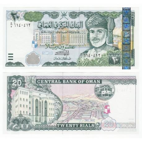 Oman 20 Rials, 2000, P-41, UNC