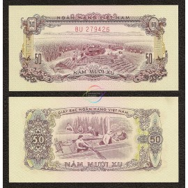 South Vietnam 50 Xu, 1966 (1975), P-39, AU