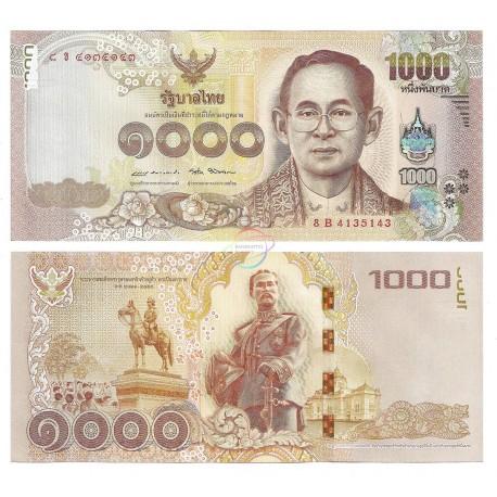 Thailand 1,000 Baht, Sign 87, 2016, P-122, UNC