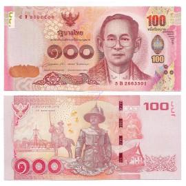 Thailand 100 Baht, Sign 85, 2015, P-120, UNC
