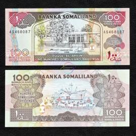Somaliland 100 Shillings, 1996, P-5b, UNC