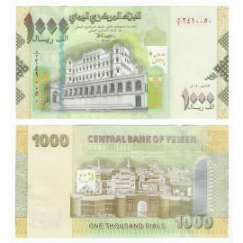 Yemen Arab Republic 1,000 Rials, 2009, P-36, UNC