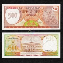 Suriname 500 Gulden, 1982, P-129, UNC