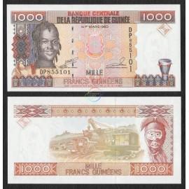 Guinea 1,000 Francs, 1998, P-37, UNC