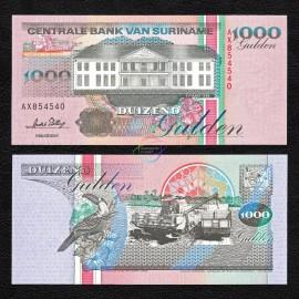 Suriname 1,000 Gulden, 1995, P-141b, UNC